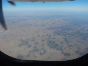 Kalahari from the air